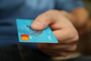 Customer presents card